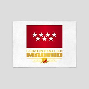 Madrid Flag 5'x7'Area Rug