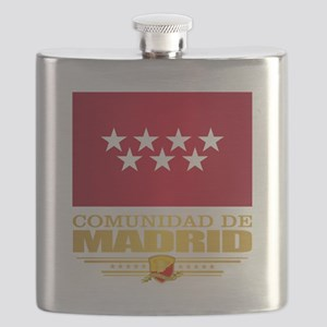 Madrid Flag Flask