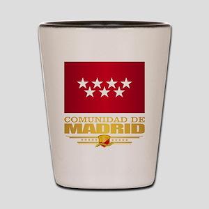 Madrid Flag Shot Glass