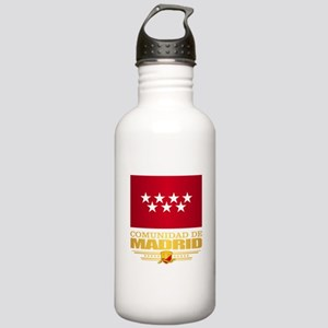 Madrid Flag Water Bottle