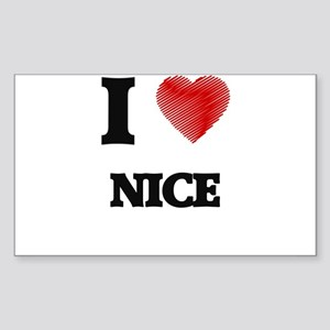 I Love Nice Sticker