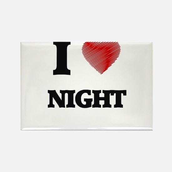 I Love Night Magnets
