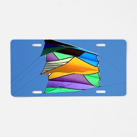 Kite flying 1 Aluminum License Plate