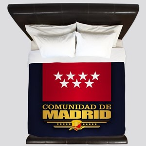 Madrid Flag King Duvet
