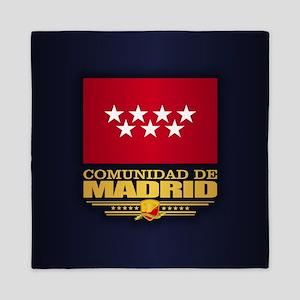 Madrid Flag Queen Duvet