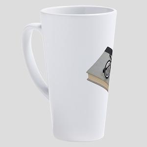 LoveReading100409 copy copy 17 oz Latte Mug