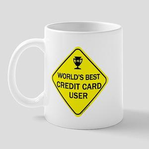 Credit Card User Mug