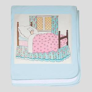 Hush_a_Bye_Mother_Goose_Illustration baby blanket