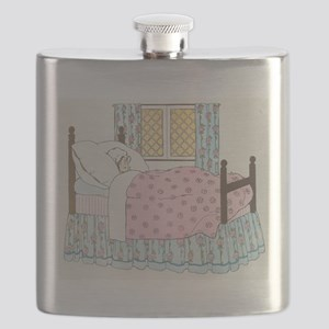 Hush_a_Bye_Mother_Goose_Illustration Flask