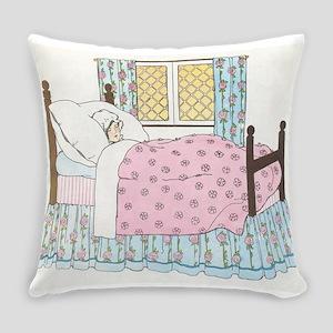 Hush_a_Bye_Mother_Goose_Illustrati Everyday Pillow