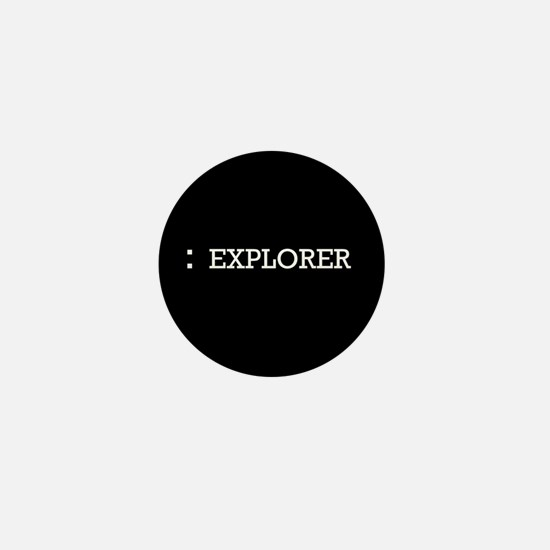 Colon Explorer - Mini Button