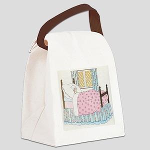 Hush_a_Bye_Mother_Goose_Illustrat Canvas Lunch Bag