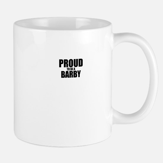 Proud to be BARBY Mugs