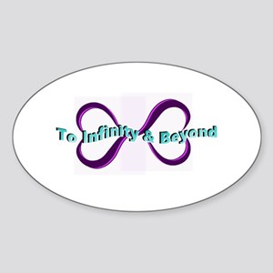 Infinity and Beyond Sticker
