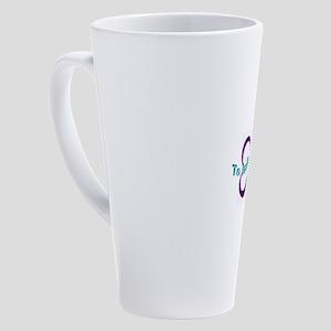 Infinity and Beyond 17 oz Latte Mug