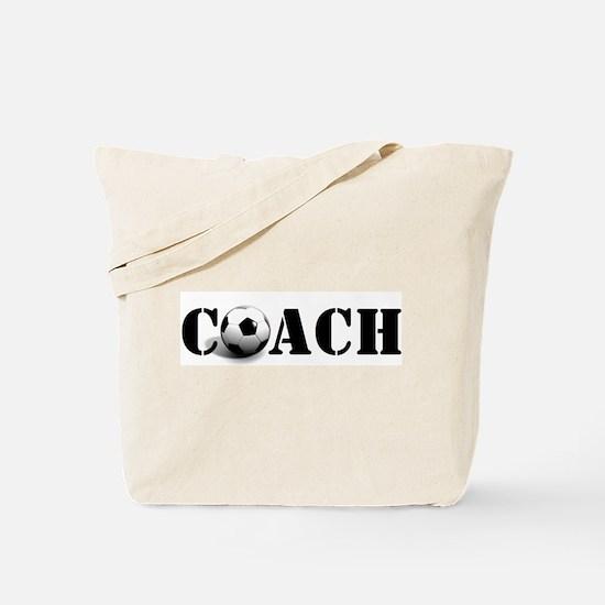 coach (soccer) Tote Bag