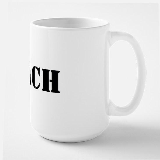coach (soccer) Large Mug