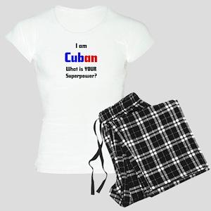 i am cuban Women's Light Pajamas