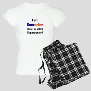 i am romanian Women's Light Pajamas
