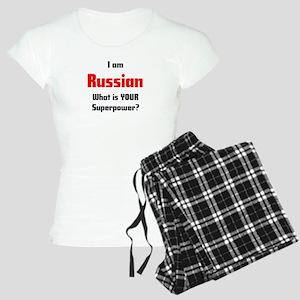 i am russian Women's Light Pajamas