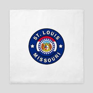 St. Louis Missouri Queen Duvet