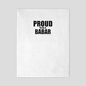 Proud to be BABAR Twin Duvet