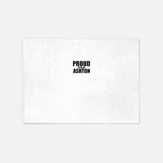 Proud to be ASHTON 5'x7'Area Rug