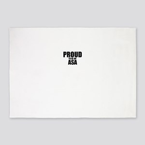 Proud to be ASA 5'x7'Area Rug