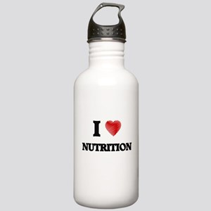 I Love Nutrition Stainless Water Bottle 1.0L