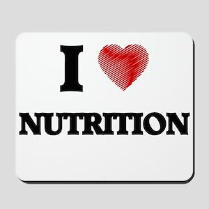 I Love Nutrition Mousepad
