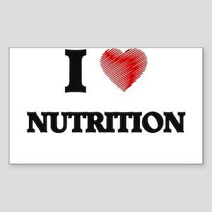 I Love Nutrition Sticker
