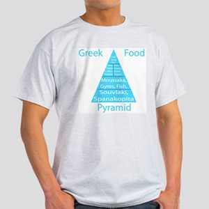 Greek Food Pyramid Women's T-Shirt