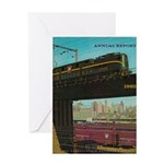 PRR 1960 Cover Greeting Card