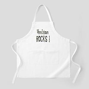 Venison Rocks ! BBQ Apron
