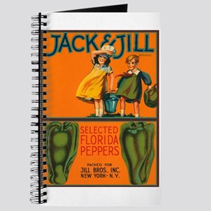 Vintage Jack and Jill Peppers Journal