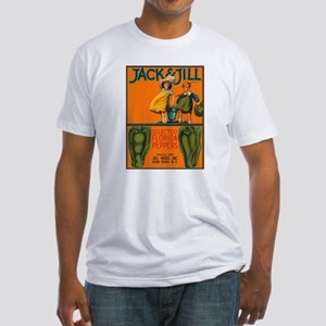 Vintage Jack and Jill Peppers Fitted T-Shirt