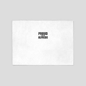 Proud to be ALFREDO 5'x7'Area Rug