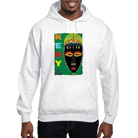 African Mask Hooded Sweatshirt