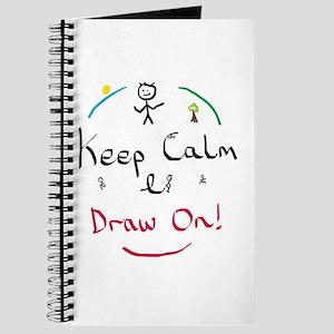Keep Calm Draw Journal