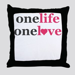 One Life One Love Purity Promise Pledge Throw Pill