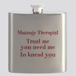 Massage Therapist ~ Gifts for any Occasion Flask