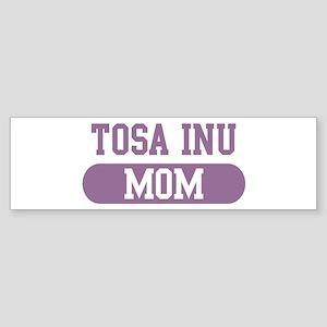 Tosa Inu Mom Bumper Sticker