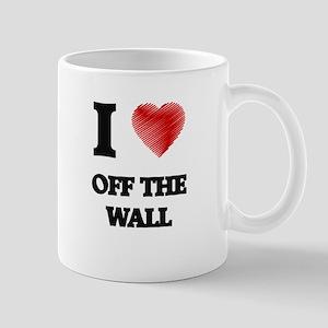 I Love Off-The-Wall Mugs