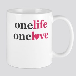 One Life One Love Purity Promise Pledge Mugs