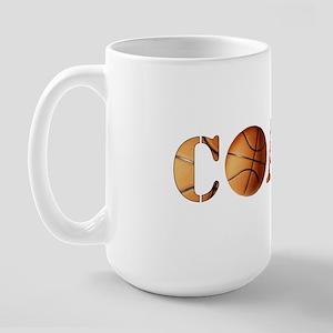 coach (basketball) Large Mug