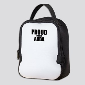 Proud to be ABBA Neoprene Lunch Bag