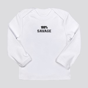 100% SAVAGE Long Sleeve T-Shirt