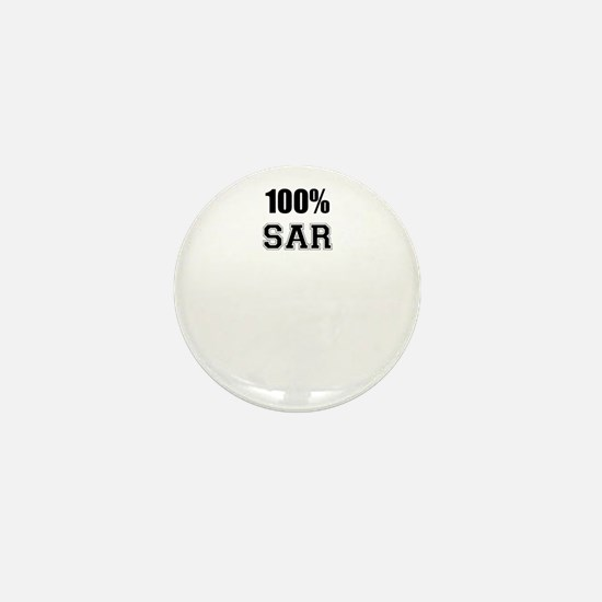 100% SAR Mini Button