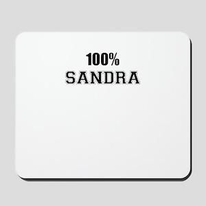 100% SANDRA Mousepad