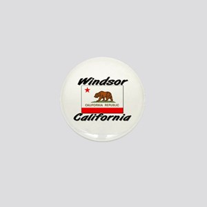 Windsor California Mini Button